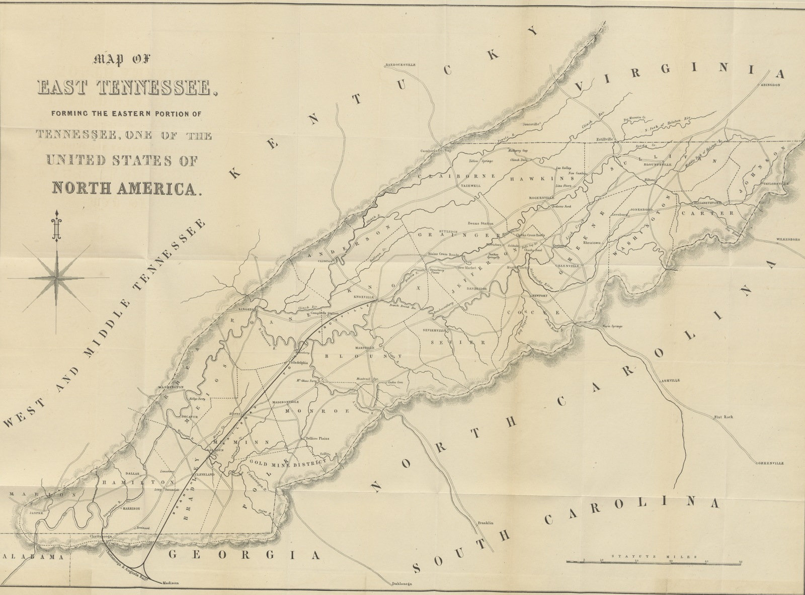 Map From A Brief Historical Statistical And Descriptive Review Of