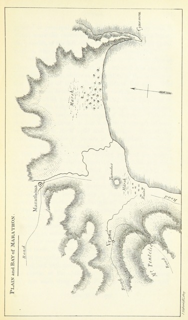 "map from ""Journal of a Tour in Greece and the Ionian Islands"""