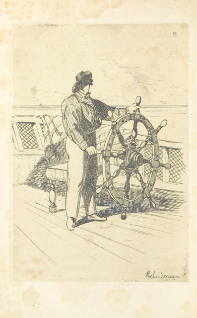 """steering mechanism from """"[A Residence on the Shores of the Baltic. Described in a series of letters. [By Elizabeth Rigby, afterwards Lady Eastlake.]]"""""""