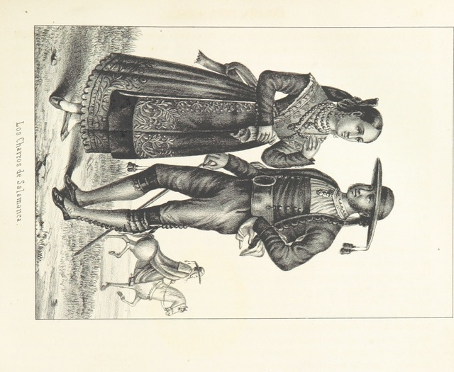 "charros from ""España pintoresca, artistica, monumental, literaria y de costumbres"""
