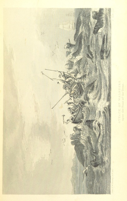 "hunters from ""A Voyage of Discovery towards the North Pole, performed in His Majesty's Ships Dorothea and Trent, under the command of Capt. David Buchan, R.N., 1818; to which is added, a summary of all the early attempts to reach the Pacific by way of the Pole. [With plates.]"""