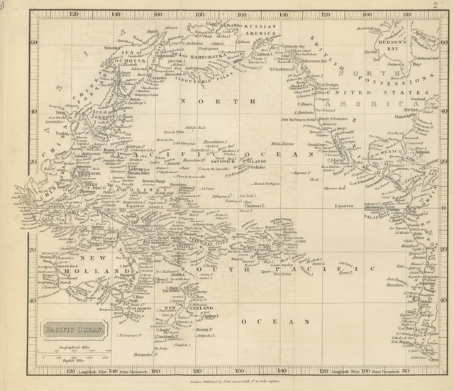 "map from ""The Sandwich Islands; progress of events since their discovery by Captain Cook. Their occupation by Lord G. Paulet. Their value and importance"""
