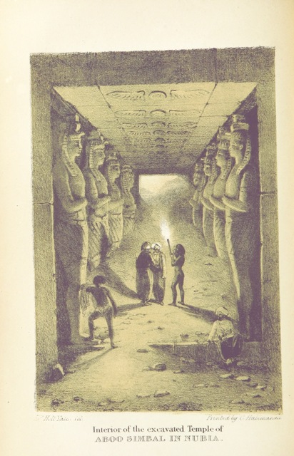 """Nubia from """"The modern History and Condition of Egypt, its climate, diseases, and capabilities, etc., exhibited in a personal narrative of travels in that country"""""""