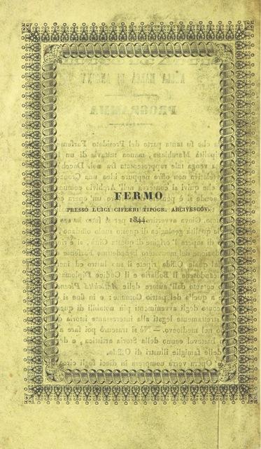 """cover from """"Memorie istoriche della città di Offida nella Marca d'Ancona"""""""