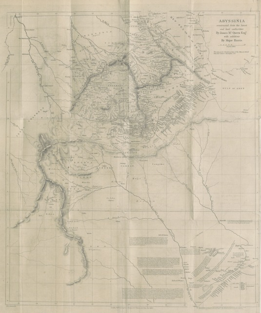 """map from """"[The highlands of Aethiopia.]"""""""