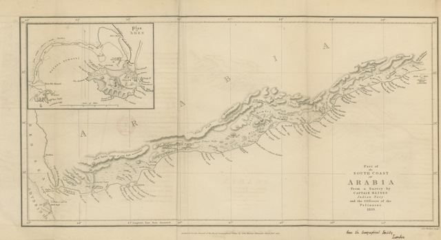 """map from """"The Journal of the late J. G. de B. Hulton ... from the 13th day of Aug., 1832, to the 13th day of May, 1836, and a paper on the Kooree Mooree islands, with an appendix. Edited by W. A. Hulton"""""""