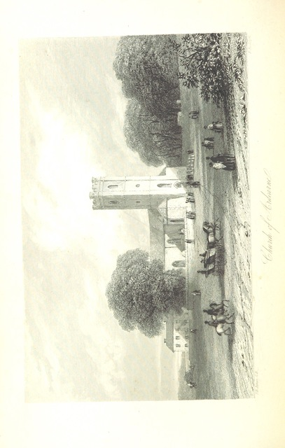 """Ardcarne Church from """"The History of Ireland, from the earliest period to the year 1245, when the Annals of Boyle, which are adopted and embodied as the running text authority, terminate: with a brief essay on the native annalists, and other sources for illustrating Ireland, and full statistical and historical notices of the Barony of Boyle. [With a """"Catalogue of the manuscript indexes and compilations of John D'Alton, etc.""""]"""""""