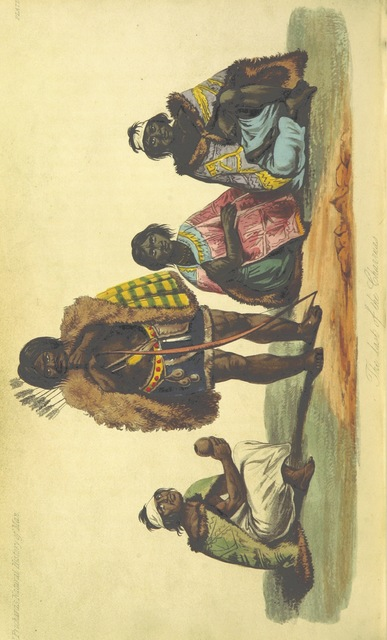 """Charrúa people from """"[The Natural History of Man; comprising inquiries into the modifying influence of physical and moral agencies of the different tribes of the human family.]"""""""