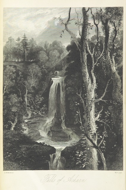 """engraving from """"[A History of the Highlands and of the Highland Clans ... Illustrated by a series of portraits and other engravings. [With a map.]]"""""""
