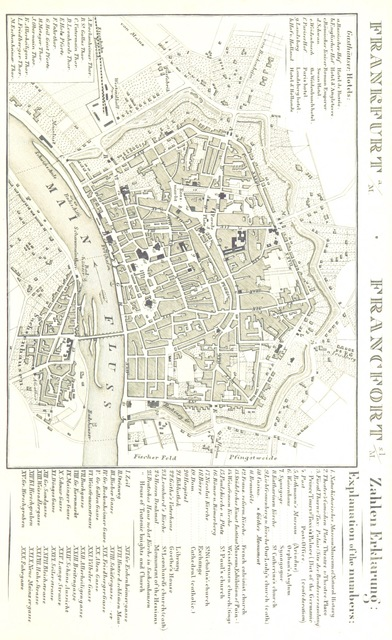 """Germany from """"Rheinischer Städte-Atlas. Enthaltend die speciellen Grundrisse von Amsterdam, dem Haag, Rotterdam, etc. Nebst einer historischen Einleitung über diese Gegenden von Dr E. D., etc"""""""