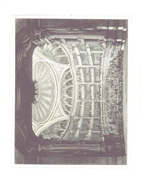 """Grand Théâtre de Bordeaux from """"Histoire des monuments anciens et modernes de la ville de Bordeaux ... Ornée de ... planches gravées sur acier par Rouargue ainé, de vignettes dessinées par Rouargue jeune, etc"""""""