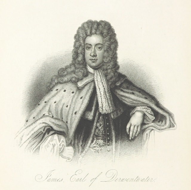 "James Radclyffe, 3rd Earl of Derwentwater from ""[A History of the Highlands and of the Highland Clans ... Illustrated by a series of portraits and other engravings. [With a map.]]"""