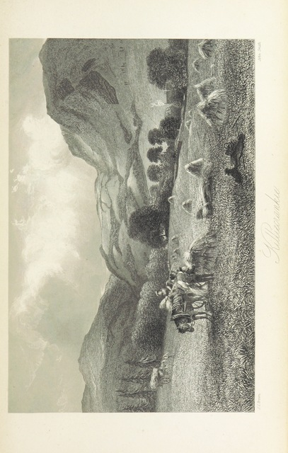 """Killiecrankie from """"[A History of the Highlands and of the Highland Clans ... Illustrated by a series of portraits and other engravings. [With a map.]]"""""""