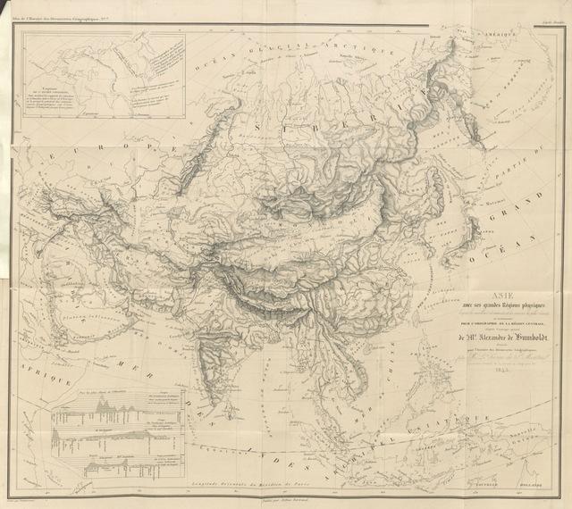 """map from """"Histoire des découvertes géographiques des nations européennes dans les diverses parties du monde"""""""