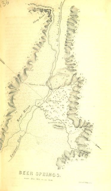 """map from """"Report of the Exploring Expedition to the Rocky Mountains in the year 1842; and to the Oregon and North California, in the years 1843, 44"""""""