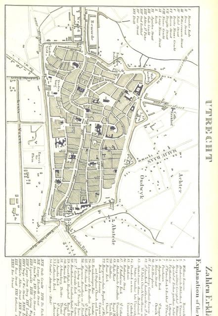 """map from """"Rheinischer Städte-Atlas. Enthaltend die speciellen Grundrisse von Amsterdam, dem Haag, Rotterdam, etc. Nebst einer historischen Einleitung über diese Gegenden von Dr E. D., etc"""""""