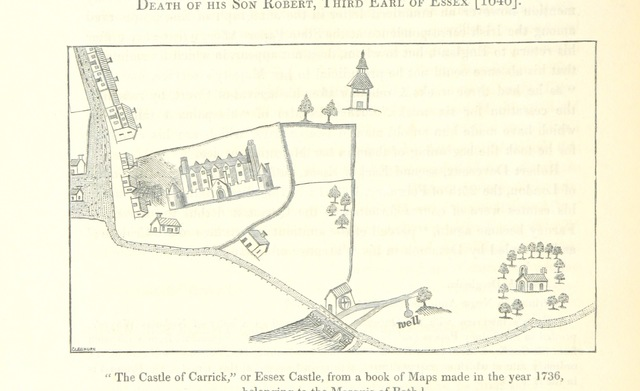 """map from """"Some Account of the territory or dominion of Farney, in the Province and Earldom of Ulster"""""""