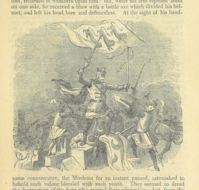 "Military from ""Richard Cœur de Lion. An historical romance"""