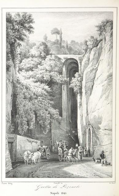 """Pozzuoli from """"Napoli e i luoghi celebri delle sue vicinanze. ([Compiled by order of the Neapolitan ministry of home affairs by] G. B. Ajello, S. Aloe, R. d'Ambra, M. d'Ayala, C. Bonucci, C. Dalbono, F. Puoti, B. Quarunta.)"""""""