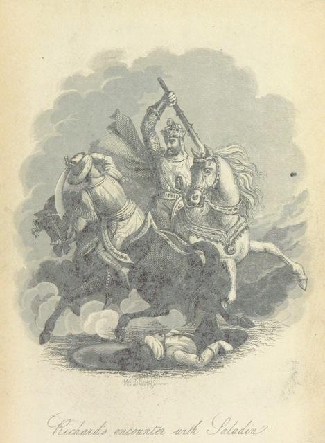 """Third Crusade from """"Richard Cœur de Lion. An historical romance"""""""