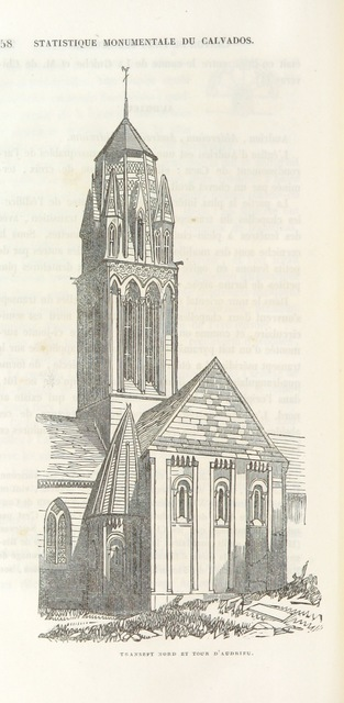 "architecture from ""Statistique monumentale du Calvados"""
