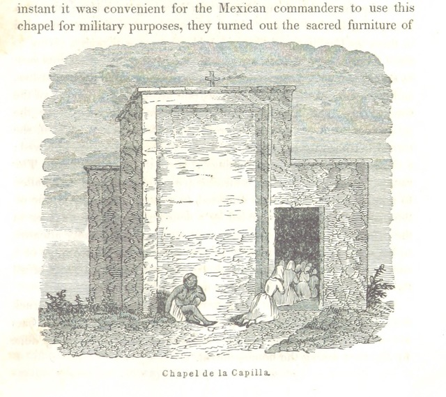 "Chapel de la Capilla from ""Our Army on the Rio Grande: ... with descriptions of the battles of Palo Alto and Resaca de la Palma, the bombardment of Fort Brown, and the ceremonies of the surrender of Matamoros, etc"""