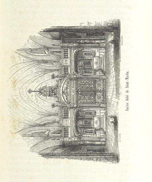 """engraving from """"Histoire de la ville de Laon et de ses institutions ... Gravures, etc"""""""