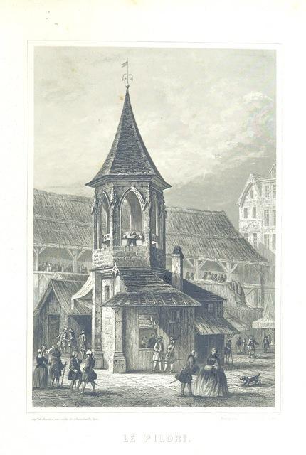 """engraving from """"[Histoire physique, civile et morale de Paris ... Quatrième édition.]"""""""