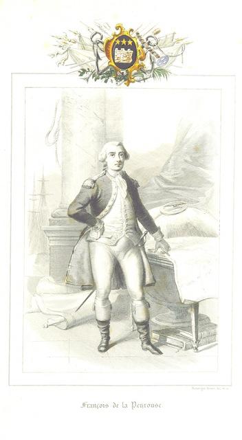 """François de la Penrouse from """"Les Navigateurs Français. Histoire des navigations découvertes et colonisations françaises"""""""