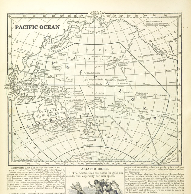 "map from ""A System of Geography, for the use of Schools. Illustrated with more than fifty cerographic maps, and numerous wood-cut engravings"""