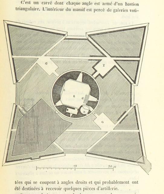 "map from ""Statistique monumentale du Calvados"""