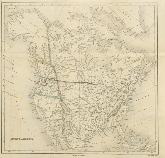 "map from ""The Oregon Question examined, in respect to facts, and the law of nations"""