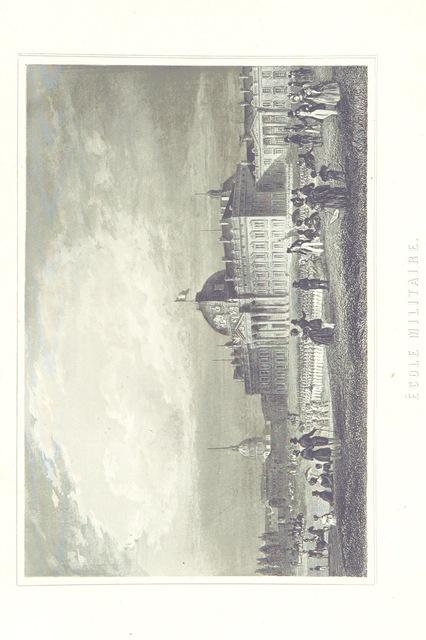 """Military School from """"[Histoire physique, civile et morale de Paris ... Quatrième édition.]"""""""