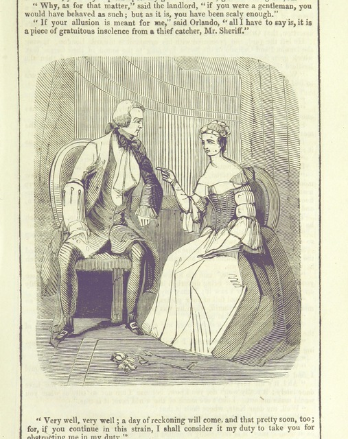 """people from """"Newgate. A romance. [By J. M. Rymer.]"""""""