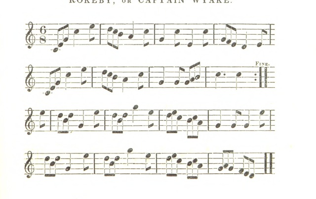 "Rokeby from ""A History of Ireland, from its first settlement to the present time; including a particular account of its literature, music, architecture, and national resources; with ... sketches of its eminent men interspersed with a great number of Irish melodies, etc"""
