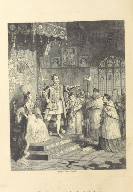 """book from """"[Windsor Castle: an historical romance. [With three plates by G. Cruikshank.]]"""""""