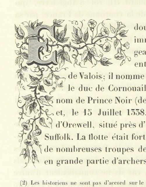 """illuminated-initial from """"Histoire physique, politique et monumentale de la ville d'Anvers"""""""
