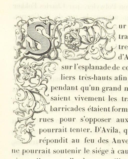 """initial from """"Histoire physique, politique et monumentale de la ville d'Anvers"""""""