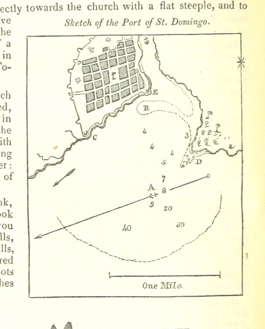 """map from """"Volume the first (-the second) ... Being Part II. (III.) of the Sailing Directories for the Eastern Coasts and Islands of America. The Colombian Navigator. Second edition, improved and corrected ... by A. G. Findlay"""""""