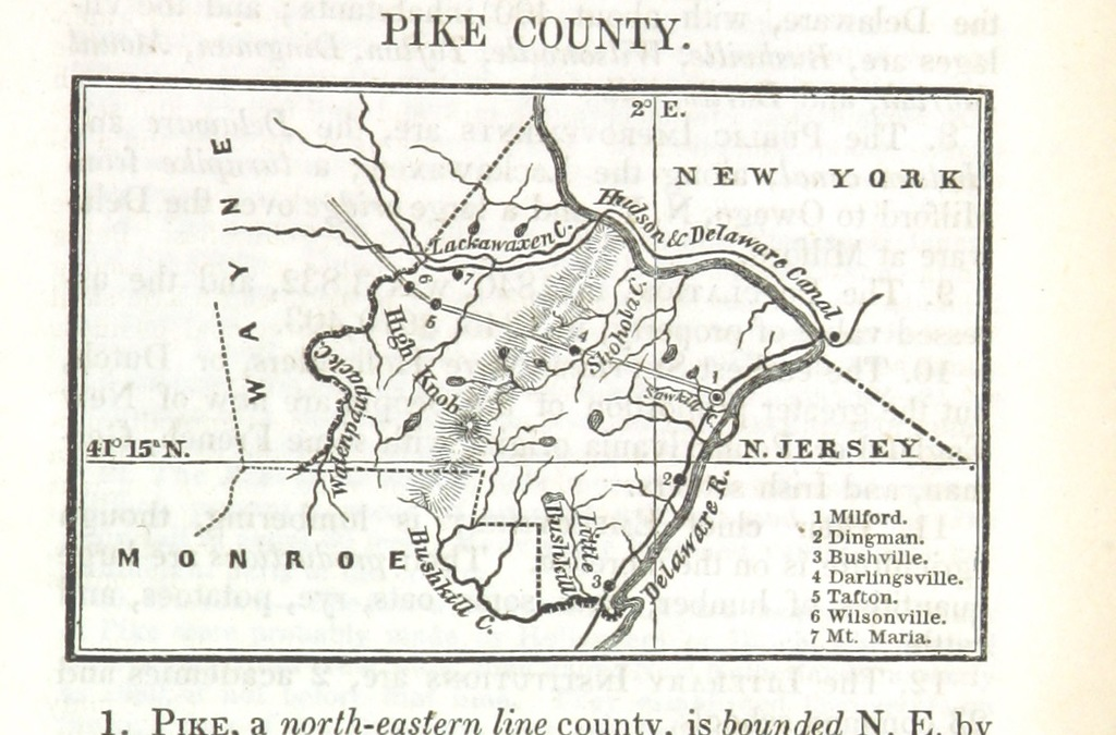 """Pennsylvania from """"State-Book of Pennsylvania, containing an account of the geography, history, government, resources, and noted citizens of the state, etc"""""""