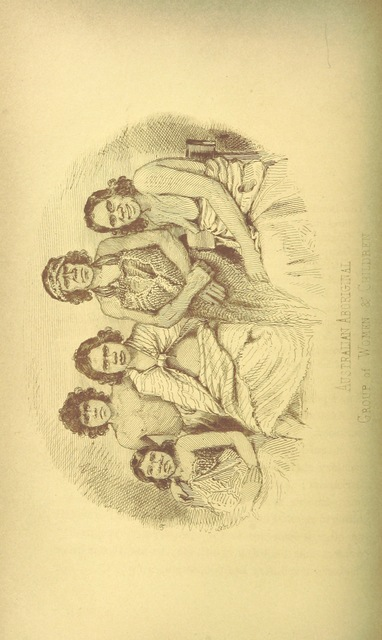 "Aboriginal Australians from ""Australia Felix; or a historical and descriptive account of the Settlement of Port Phillip, New South Wales; including full particulars of the manners and condition of the aboriginal natives; with observations on emigration, on the system of transportation; and on colonial policy"""