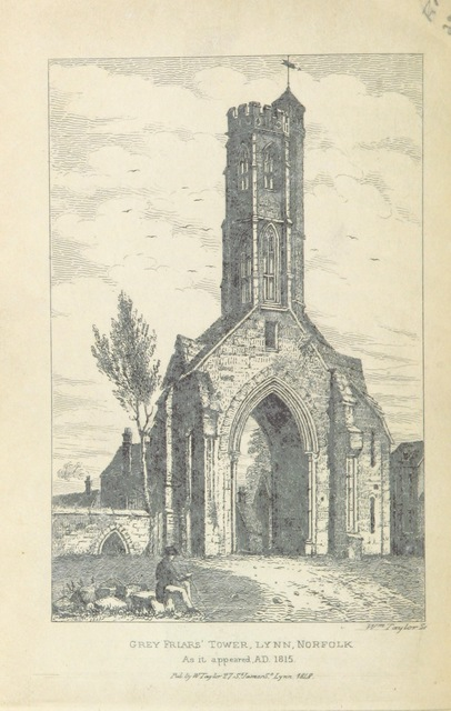 """Architecture from """"The Pictorial Guide to King's Lynn, Norfolk"""""""