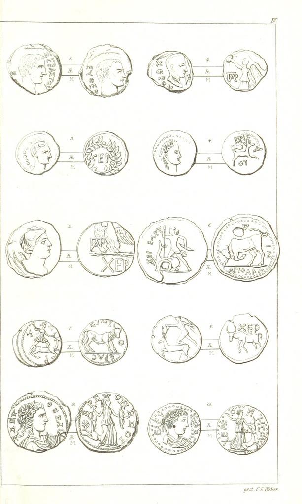 "circle from ""Изслѣдованія объ исторіи и древностяхъ города Херсониса Таврическаго"""