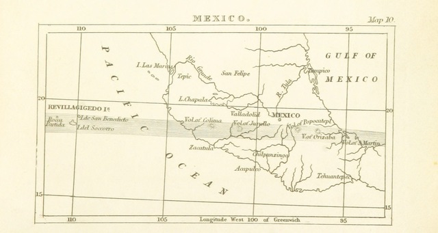"""map from """"[A Description of Active and Extinct Volcanos ... Being the substance of some lectures delivered before the University of Oxford, with much additional matter. [With plates, including maps.]]"""""""