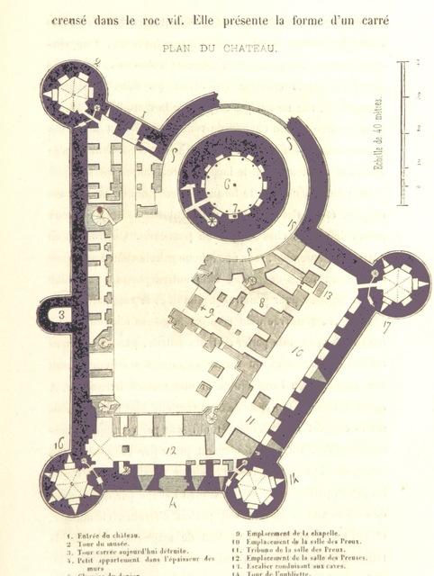 """map from """"Histoire de la ville et des sires de Coucy-le-Château, suivie d'une notice historique sur Anizy, Marle, Vervins, ... et sur les ... abbayes de Nogent et de Prémontré ... illustrée d'un grand nombre de dessins sur bois"""""""