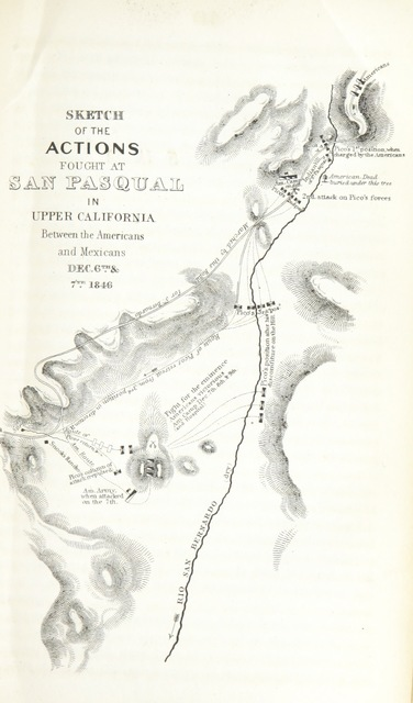 "map from ""Notes of a military reconnaissance from Port Leavenworth in Missouri to San Diego, in California, including parts of the Arkansas, del Norte and Gila Rivers"""