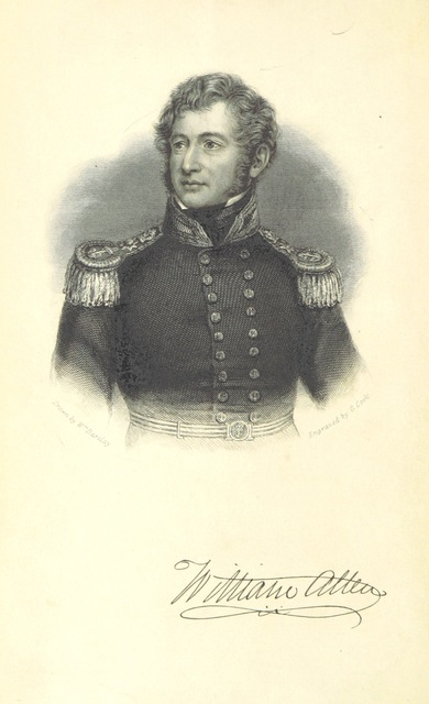 """portrait from """"A Narrative of the Expedition sent by Her Majestys Government to the River Niger in 1841, under the command of Capt. H. D. Trotter. [With plates.]"""""""