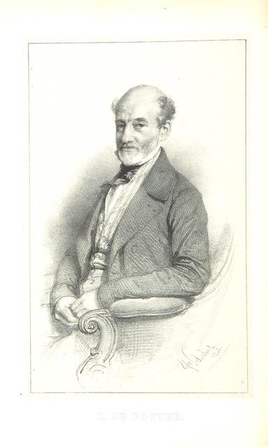 """portrait from """"Révolution belge. La Belgique depuis mil huit cent trente, 1830-1848, etc. [With plates.]"""""""