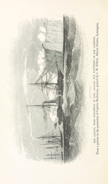 "ship from ""Steam Warfare in the Parana: a narrative of operations by the combined squadrons of England and France"""