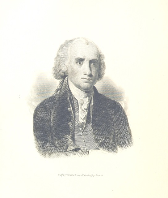 """portrait from """"The Statesman's Manual. The addresses and messages of the Presidents of the United States, inaugural, annual and special from 1789 to 1849. With a memoir of each of the Presidents and a history of their administrations; also the constitution of the United States and a selection of important documents and statistical information. Compiled from official sources ... with portraits of the Presidents"""""""